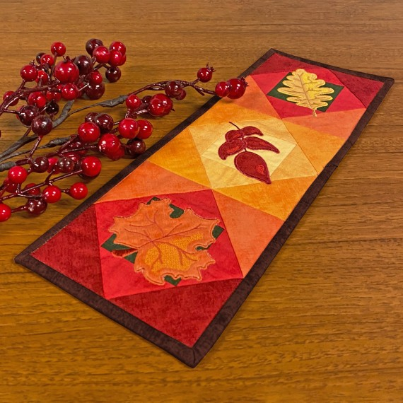 Stitch it! Sisters Quick Quilting in the Hoop: Fall Leaves Program 115 at the Nancy Zieman Productions Blog