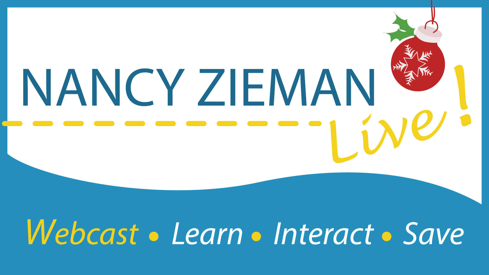 Nancy Zieman Live Webcast on November 22, 2014 featuring Easy Gifts to Sew in Two Evenings or Less.