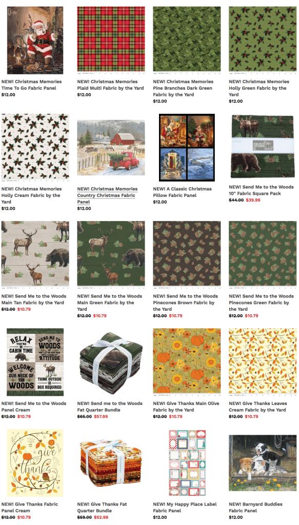 Shop Holiday Fabrics at ShopNZP.com