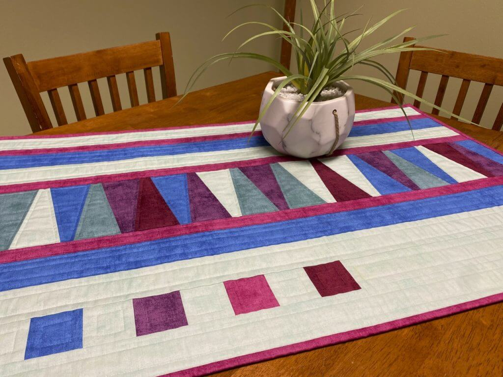 Dresden Columns Table Runner Sewing Tutorial Video at The Nancy Zieman Productions Blog