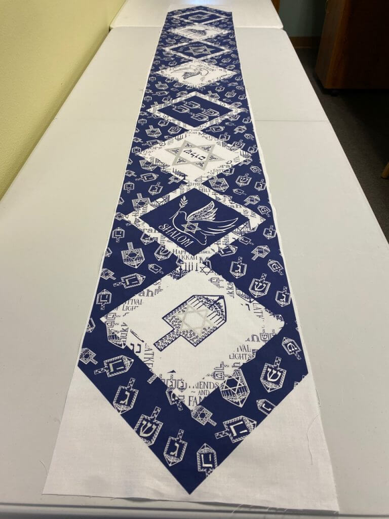 Festival of Lights Table Runner Sewing Tutorial at the Nancy Zieman Productions Blog IMG 4452