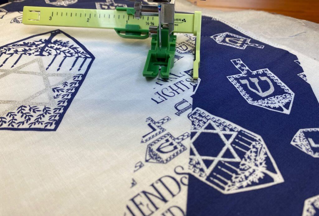 Festival of Lights Table Runner Sewing Tutorial at the Nancy Zieman Productions Blog IMG 4468