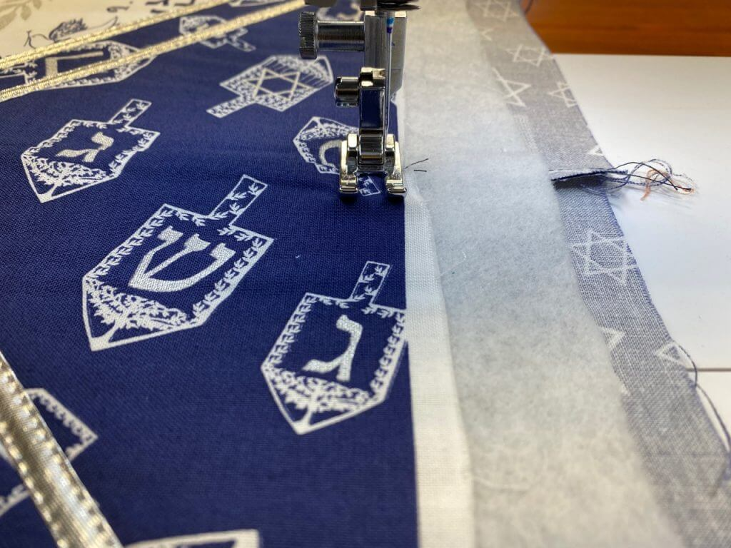Festival of Lights Table Runner Sewing Tutorial at the Nancy Zieman Productions Blog IMG 4469