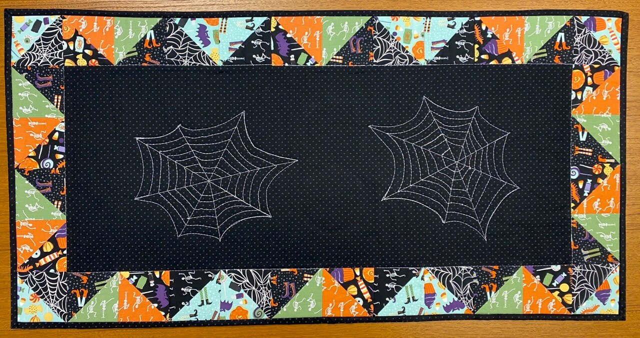 Halloween Table Runner Sewing Tutorial at The Nancy Zieman Productions Blog