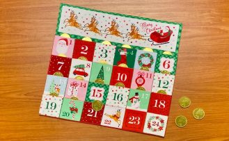 How to Sew an Advent Calendar with the Merry and Bright Panel at The Nancy Zieman Productions Blog