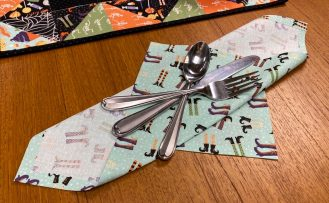 No Sew Napkins Sewing Tutorial at the Nancy Zieman Productions Blog