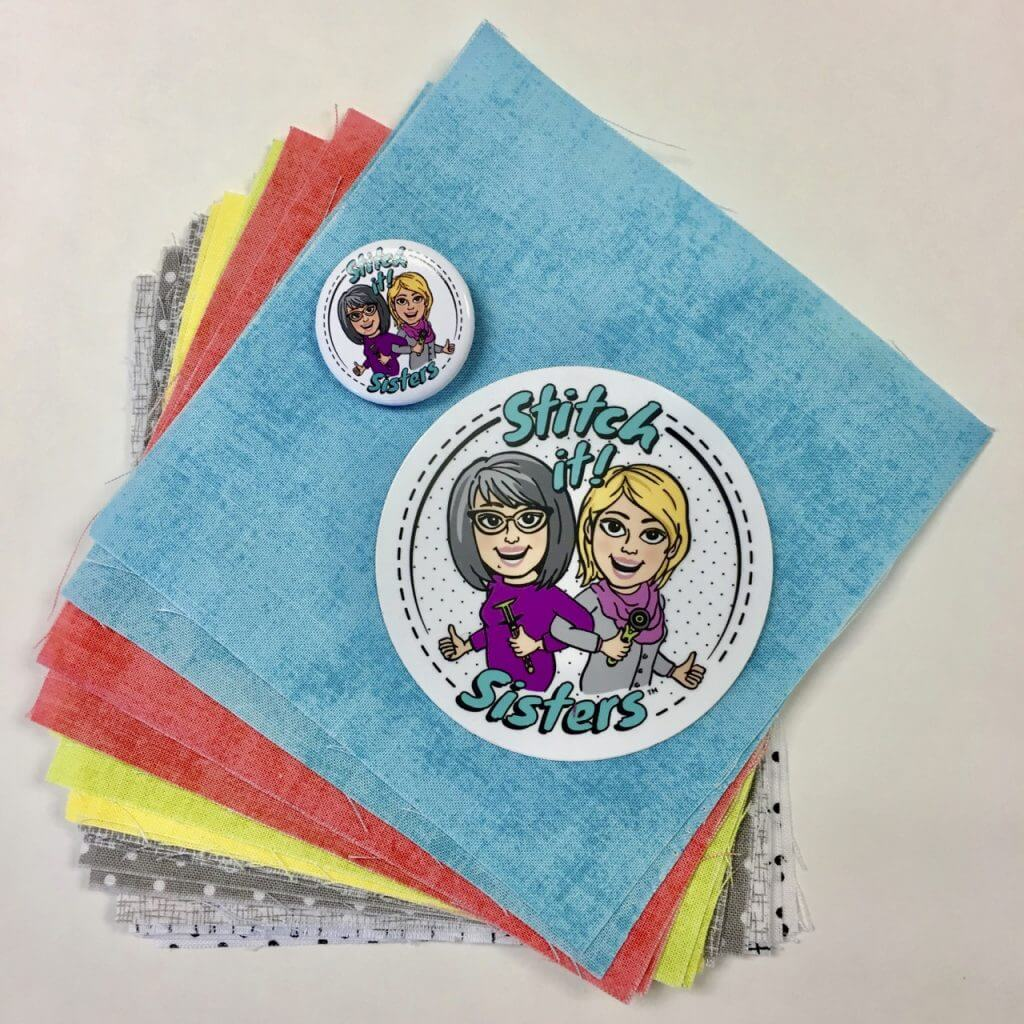 "Stitch it! Sisters 5"" Fabric Squares Giveaway at The Nancy Zieman Productions Blog"