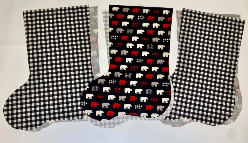 NEW! 2020 Monogrammed Christmas Stocking Sewing Tutorial by Team NZP
