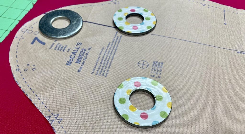 3b. Make your own DIY pattern weights at The Nancy Zieman Productions Blog