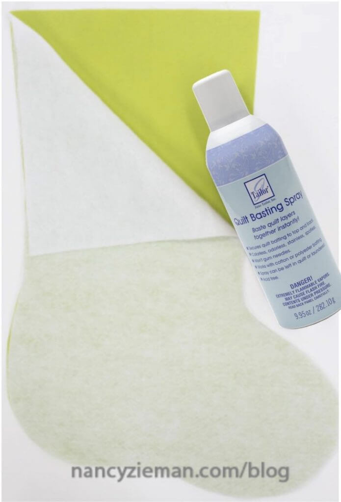 Quilt Basting Spray available at ShopNZP.com