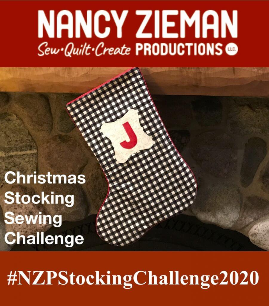 Nancy Zieman Productions 2020 Christmas Stocking Sewing Challenge
