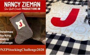 NZP 2020 Christmas Stockign Sewing Challenge  e1604942436887
