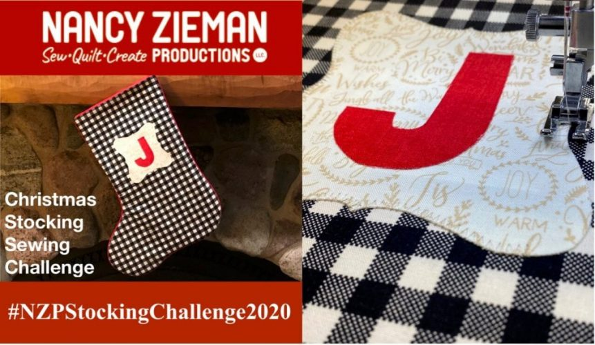 NZP 2020 Christmas Stockign Sewing Challenge  e1604942436887