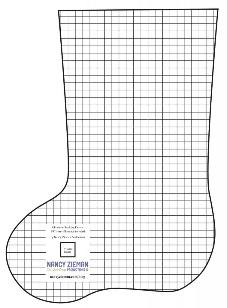 Nancy Zieman Productions Christmas Stocking Sewing Challenge