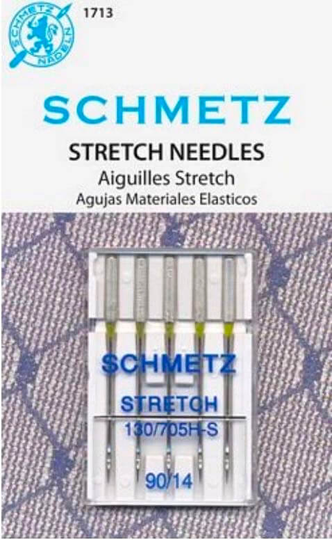 Schmetz Stretch Needles, Size 90/14 available at Nancy Zieman Productions at ShopNZP.com