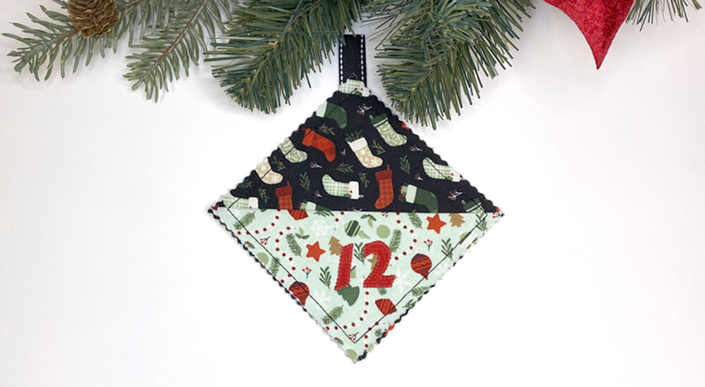 Treasure Pocket Advent Calendar Sewing Tutorial by Mary Mulari at The Nancy Zieman Productions Blog Feature Photo