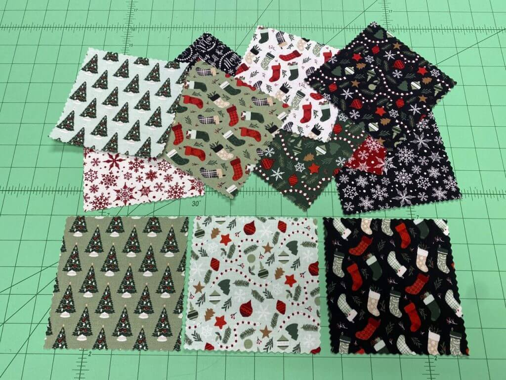 Treasure Pocket Advent Calendar Sewing Tutorial by Mary Mulari at The Nancy Zieman Productions Blog
