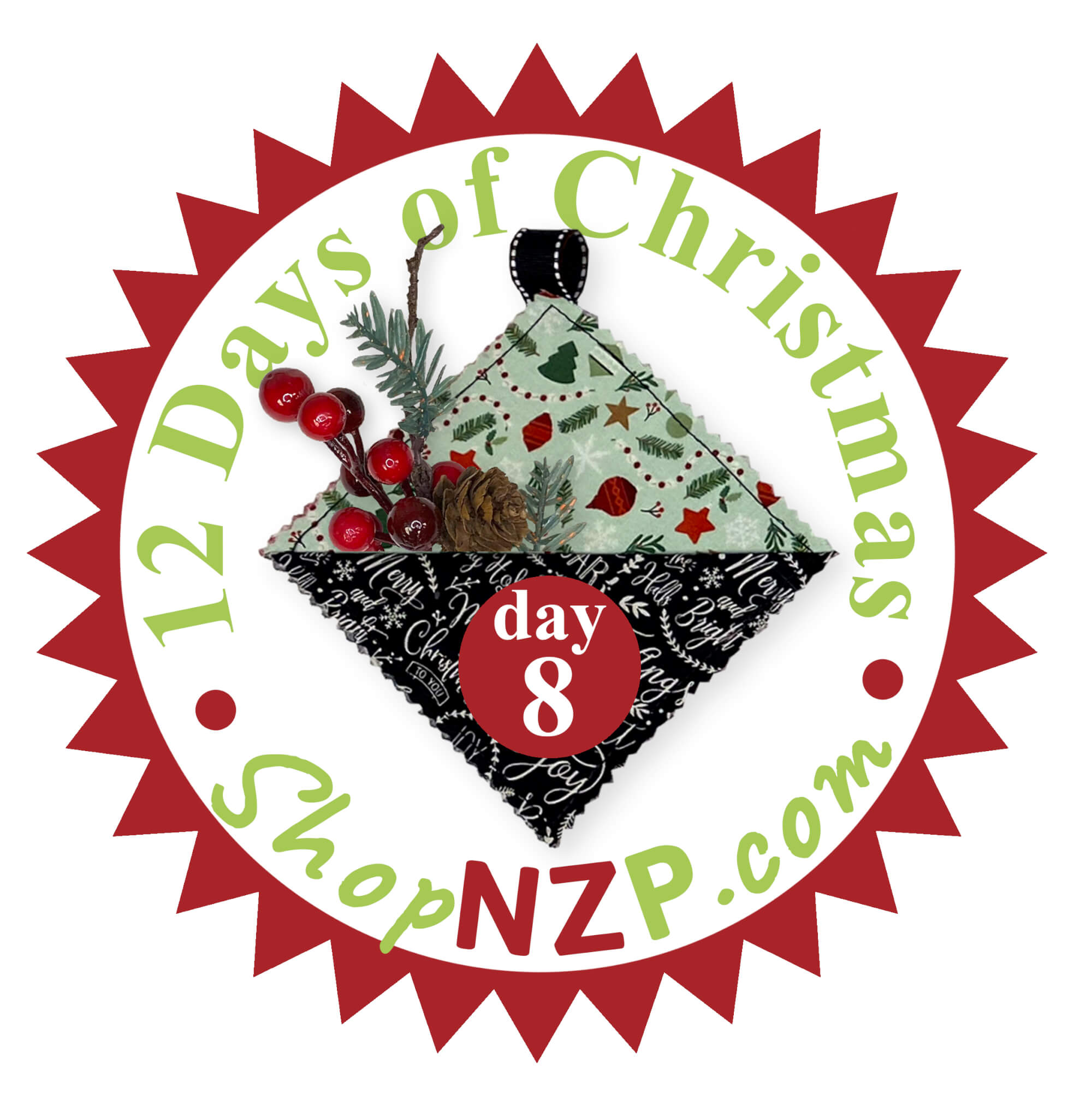 12 Days of Christmas Event at Nancy Zieman Productions at ShopNZP.com Day 8