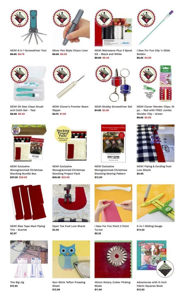Buy Timesaving Sewing Tools and Quality Sewing Fabrics and Quilting Supplies at Nancy Zieman Productions at ShopNZP.com