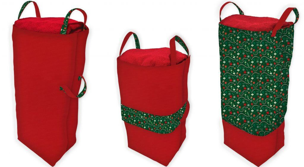 Big Bigger Santa Bag Sewing Tutorial at the Nancy Zieman Productions Blog