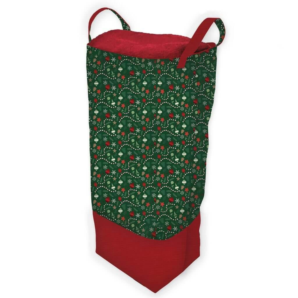 Big Bigger Santa Bag Sewing Tutorial at the Nancy Zieman Productions Blog
