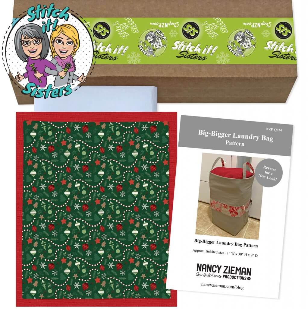 Big Bigger Santa Bag Bundle Box available at Nancy Zieman Productions ShopNZP.com
