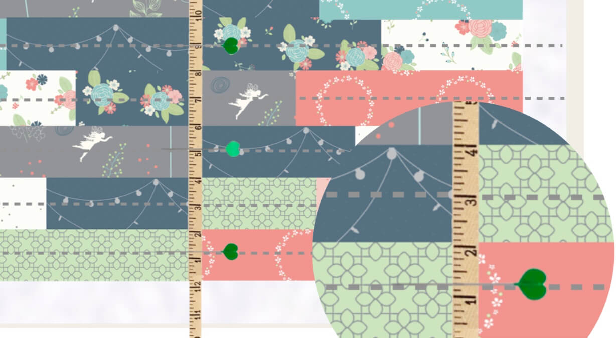 Growth Chart Quilted Wall Hanging Sewing Tutorial with Tape Measure Twill Tape at the Nancy Zieman Productions Blog