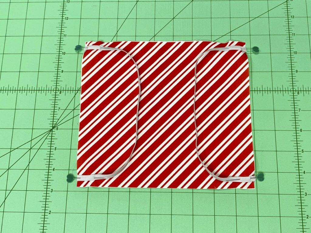 NEW! Holiday Fabric Face Coverings Sewing Tutorial & Elastics on SALE at ShopNZP.com