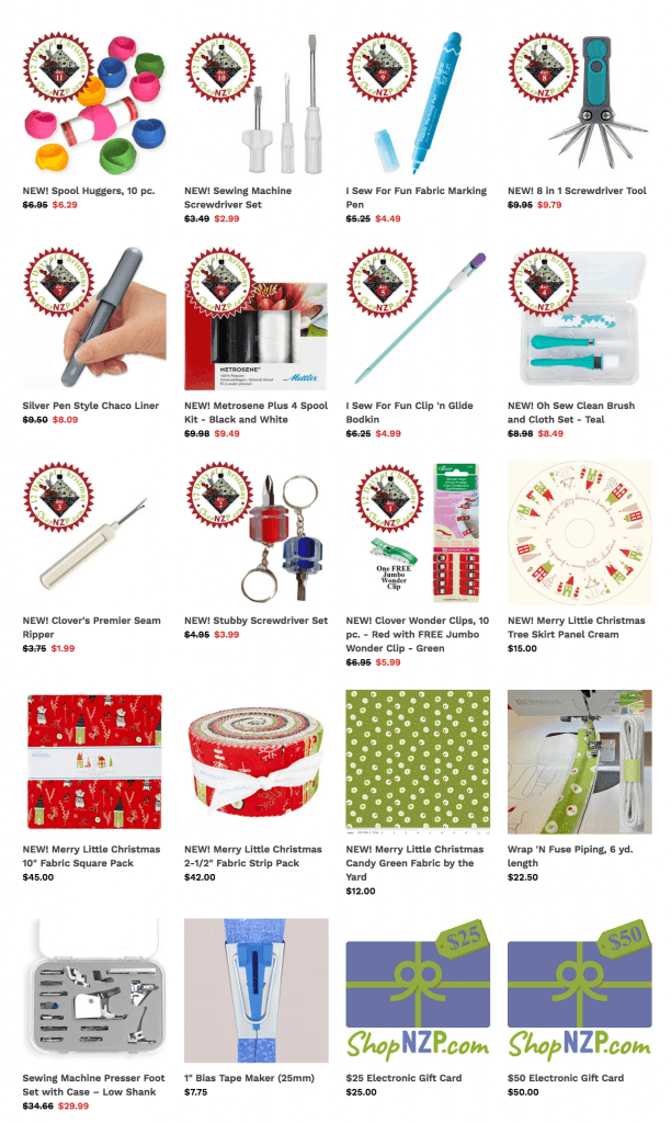 Shop 12 Days of Christmas Gifts at Nancy Zieman Productions at ShopNZP.com
