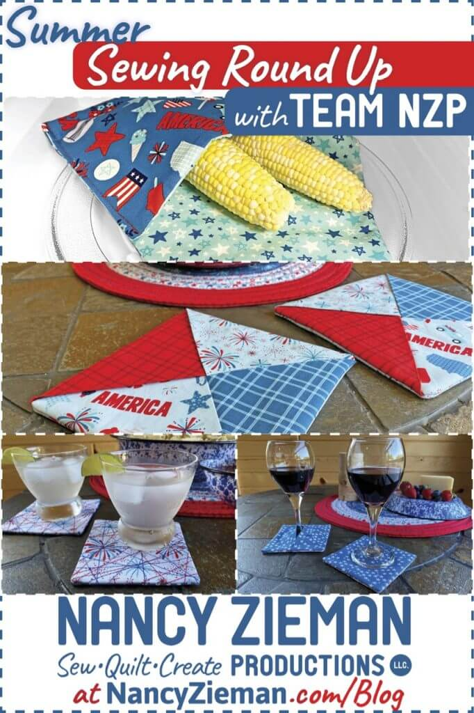 Summer Sewing Round Up at The Nancy Zieman Productions Blog