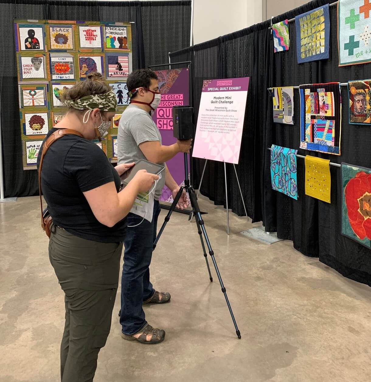 The Great Wisconsin Quilt Show Quilt Exhibits September 10-12, 2020 at QuiltShow.com