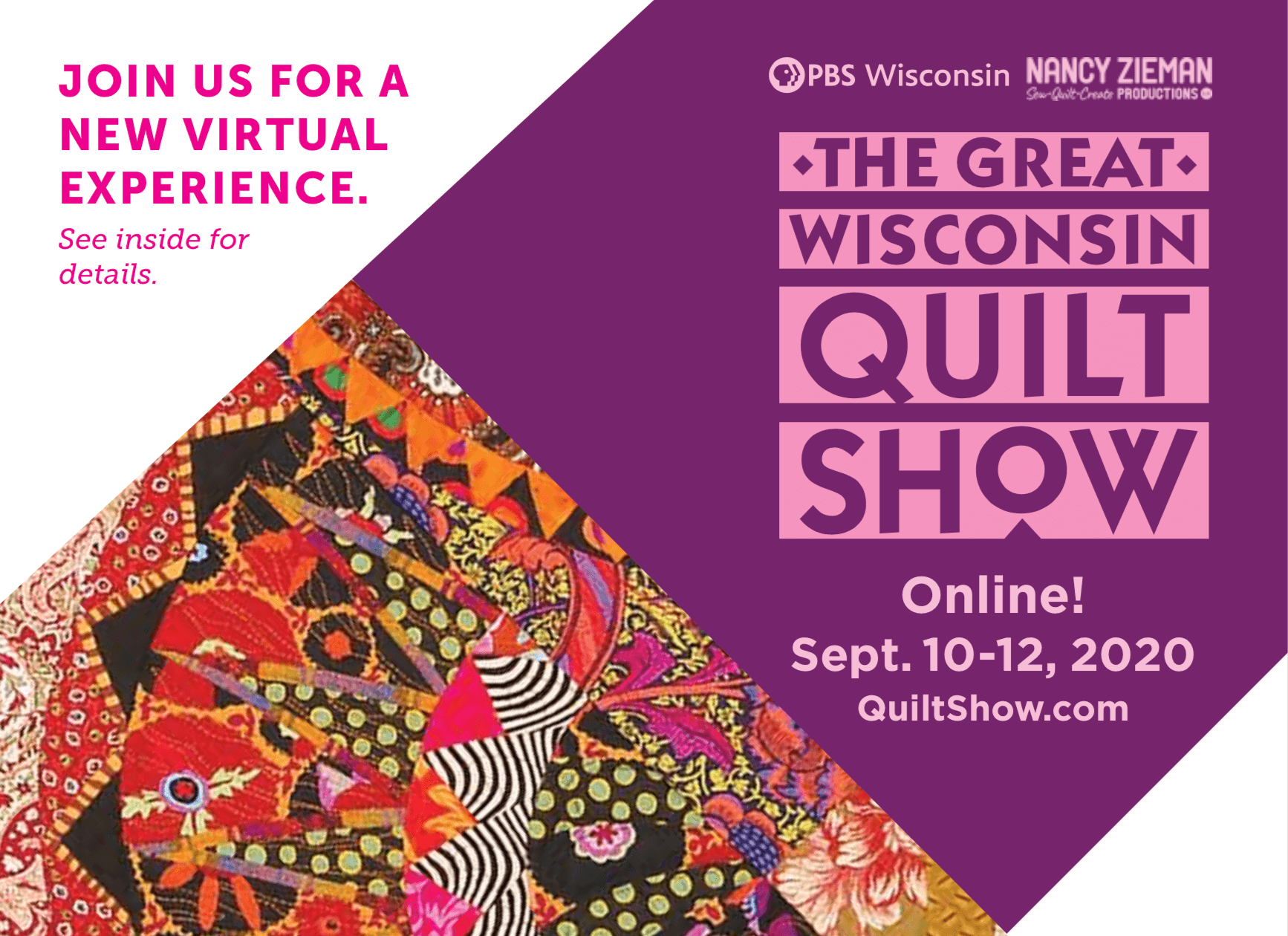 The Great Wisconsin Quilt Show in Madison Wisconsin