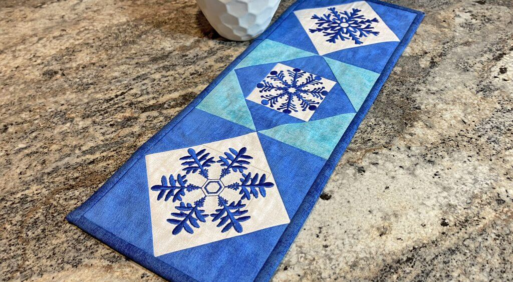 Quick Quilting in the Hoop Winter Snowflakes Bundle Boxes available at Nancy Zieman Productions ShopNZP.com