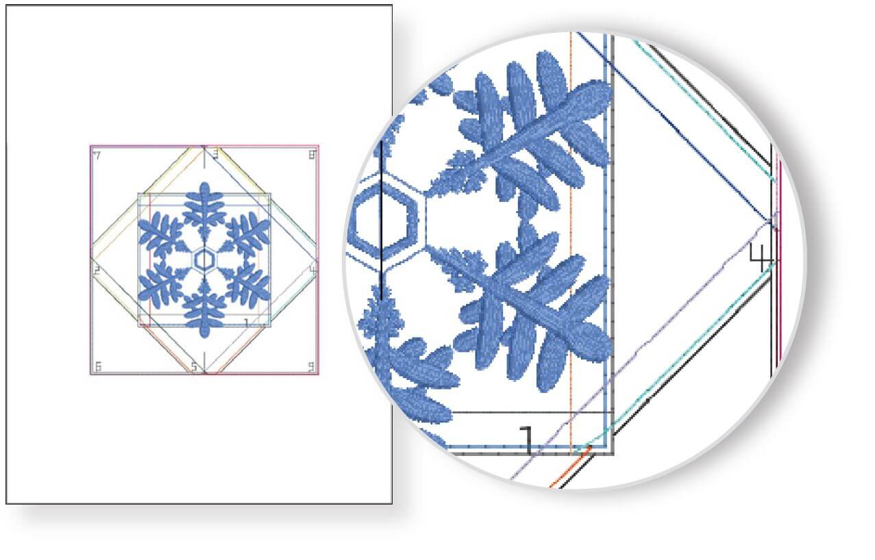 NEW! Exclusive Quick Quilting in the Hoop: Winter Snowflakes Embroidery Collection and Book available at ShopNZP.com