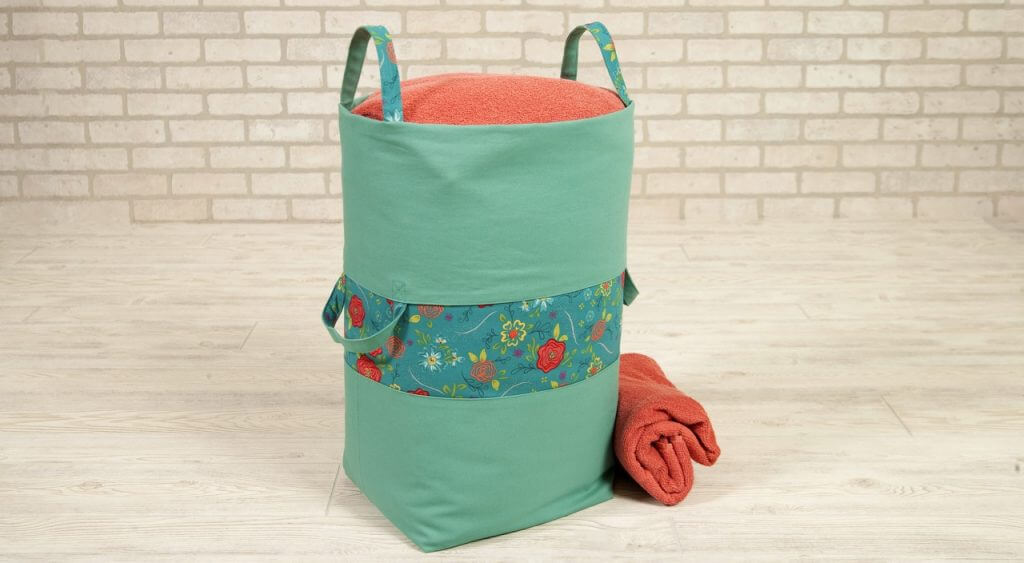 Big Bigger Laundry Bag Sewing Tutorial The Nancy Zieman Productions Blog