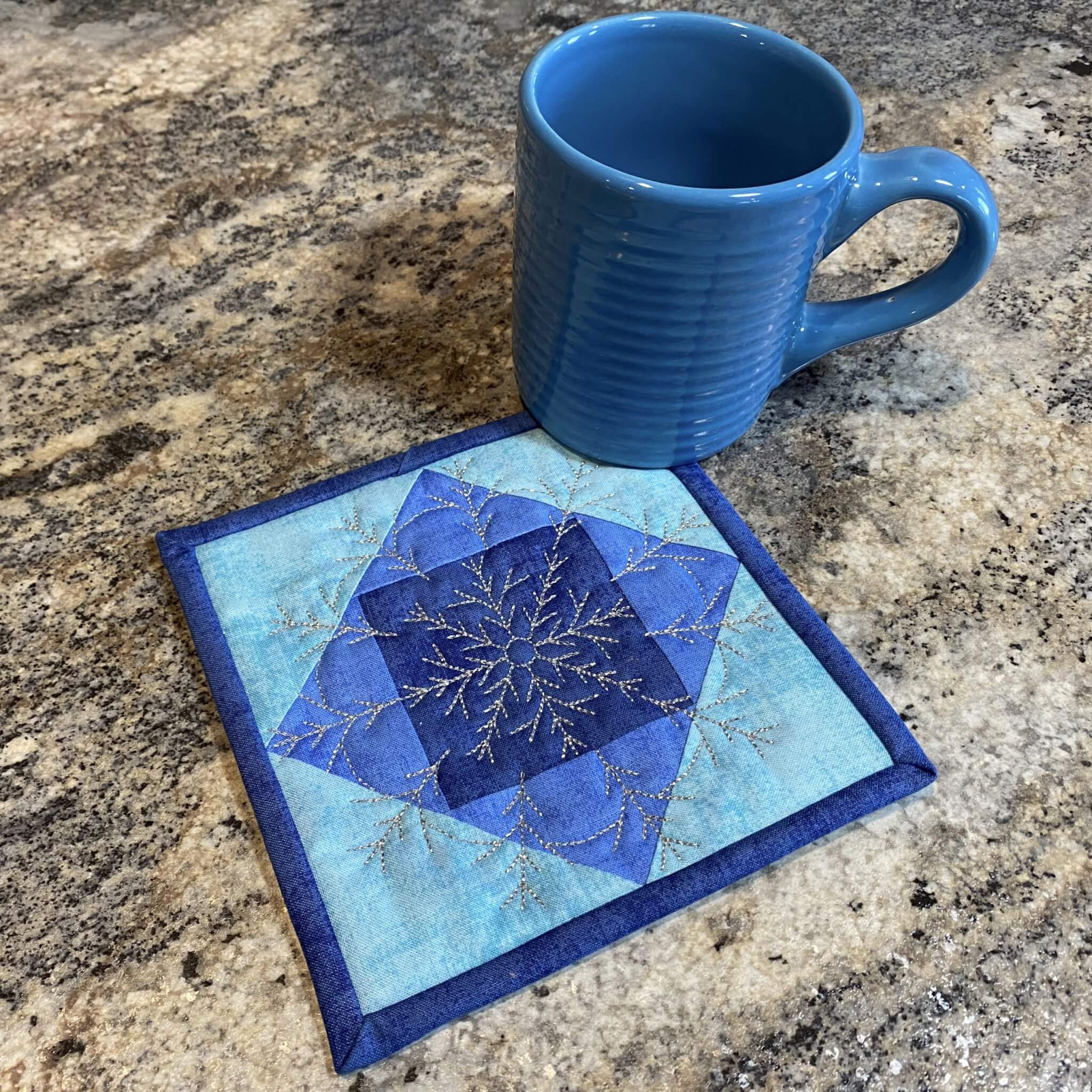 Quick Quilting in the Hoop: Winter Snowflakes Coasters Bundle Box at ShopNZP.com