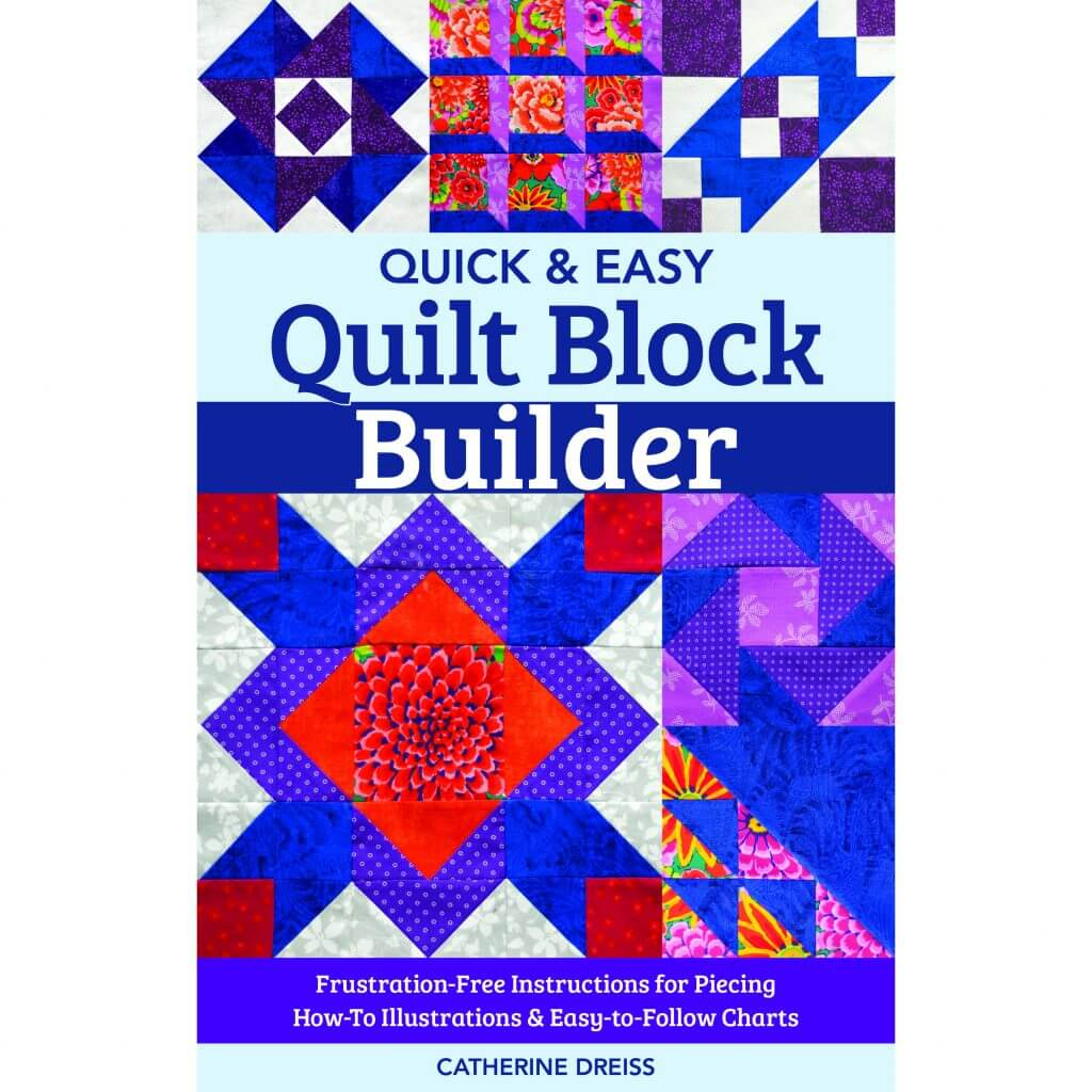 Quick & Easy Quilt Block Builder available at Nancy Zieman Productions at ShopNZP.com