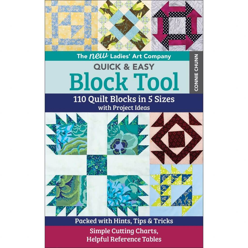 The New Ladies' Art Company Quick & Easy Block Tool available at Nancy Zieman Productions at ShopNZP.com