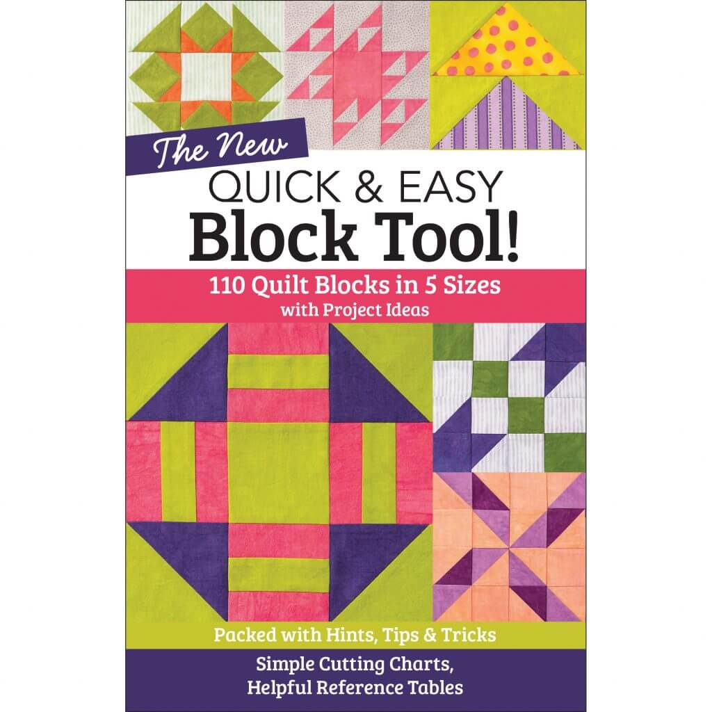 The NEW Quick & Easy Block Tool! available at Nancy Zieman Productions at ShopNZP.com