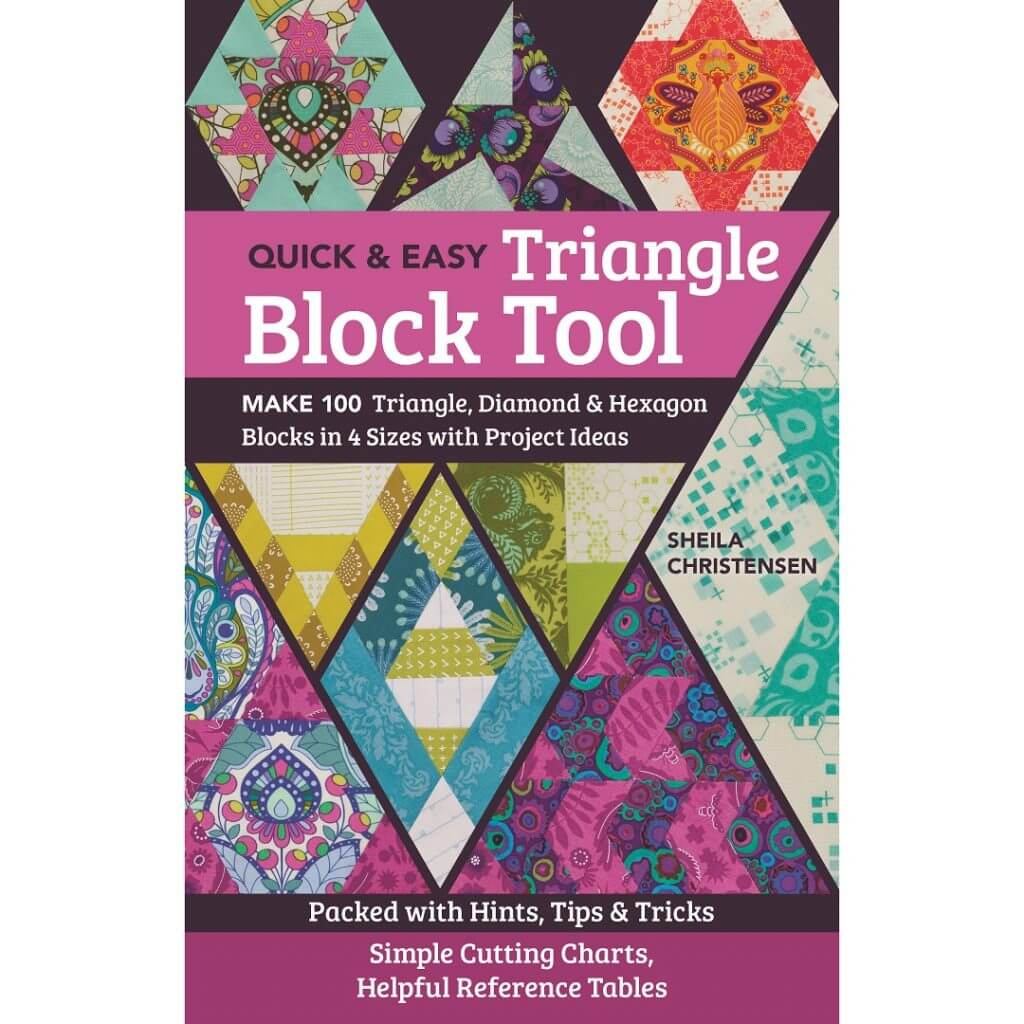 Quick & Easy Triangle Block Tool available at Nancy Zieman Productions at ShopNZP.com