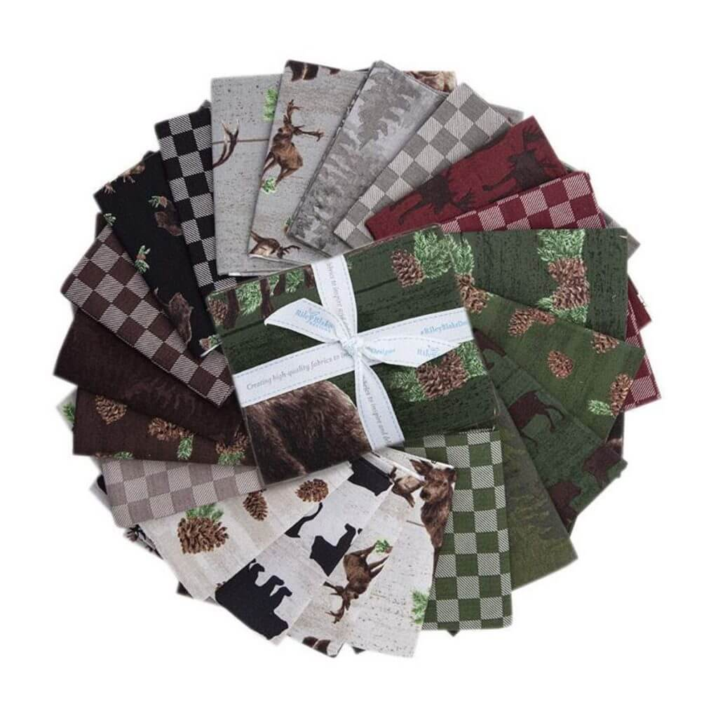 Send Me to the Woods Fat Quarter Bundle available at Nancy Zieman Productions at ShopNZP.com