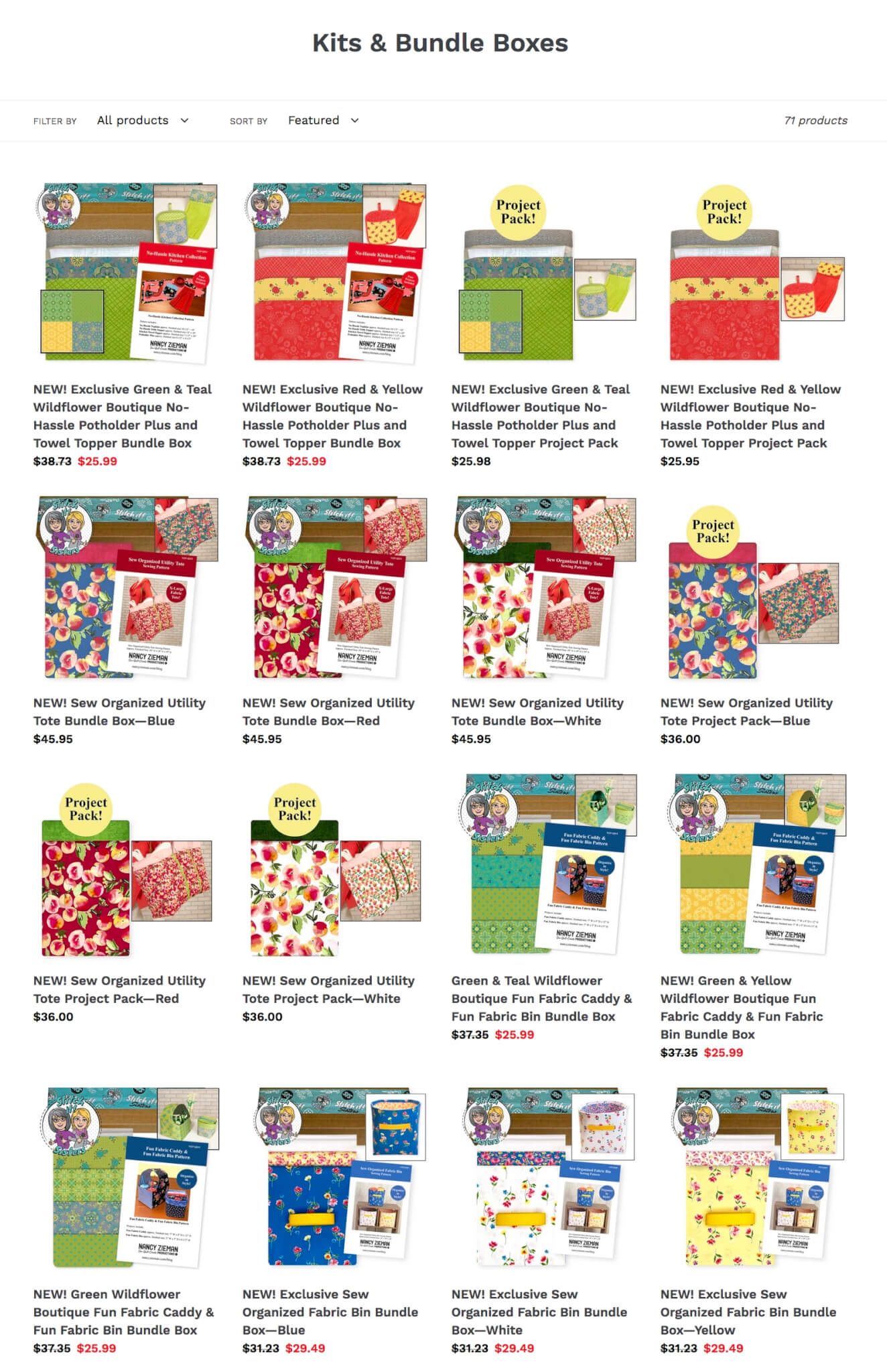 Shop NEW! Exclusive Bundle Boxes available at Nancy Zieman Prodcutions ShopNZP.coom