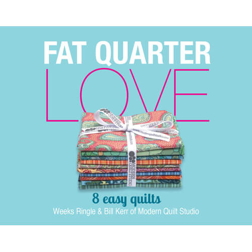 Fat Quarter Love Pattern Booklet available at Nancy Zieman Productions at ShopNZP.com