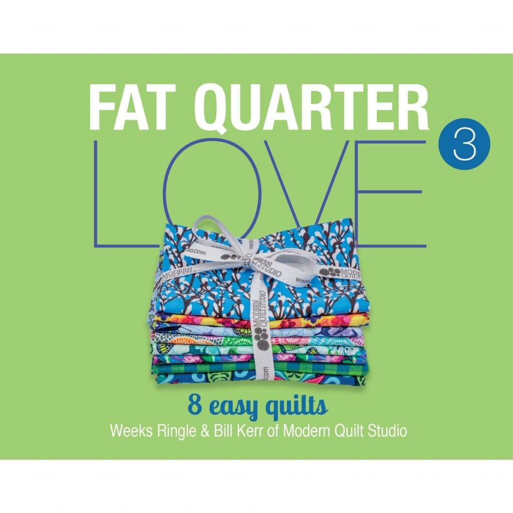 Fat Quarter Love 3 Pattern Booklet available at Nancy Zieman Productions at ShopNZP.com