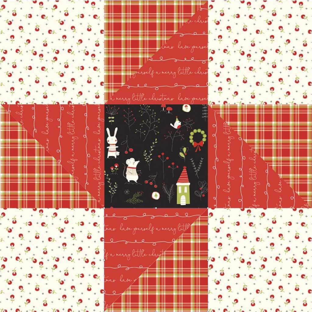 February 2021 NZP Block of the Month: Friendship Star Tutorial at the Nancy Zieman Productions Blog