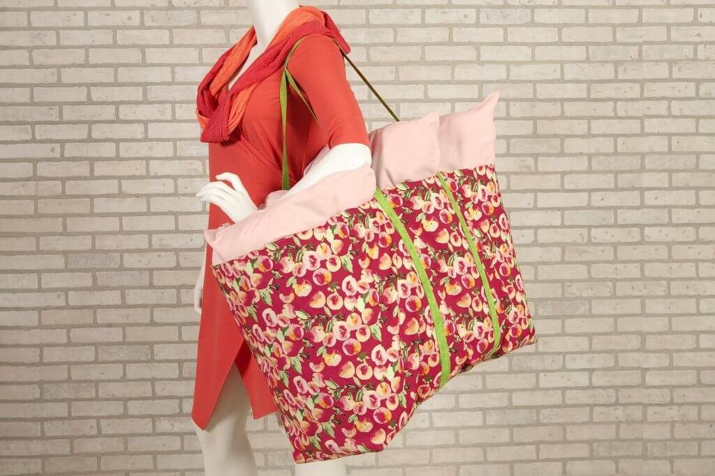NEW! Stitch it! Sisters Sew Organized Utility Tote Sewing Tutorial