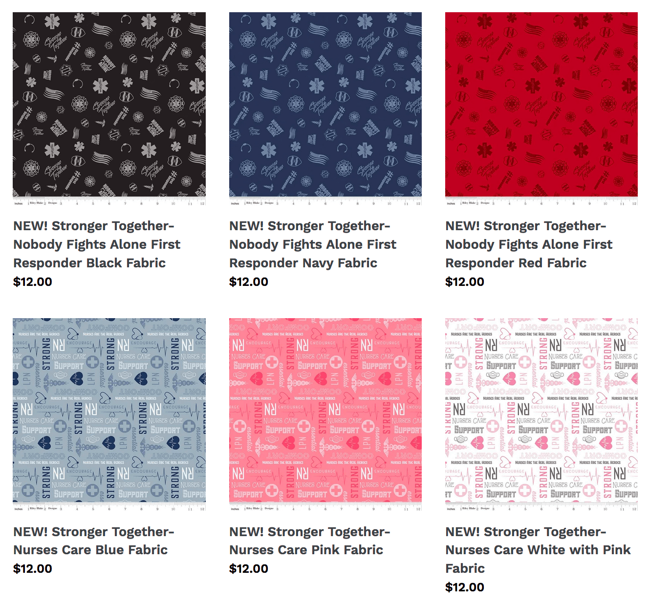 New Stronger Together Fabrics Now Available at Nancy Zieman Productions at ShopNZP.com