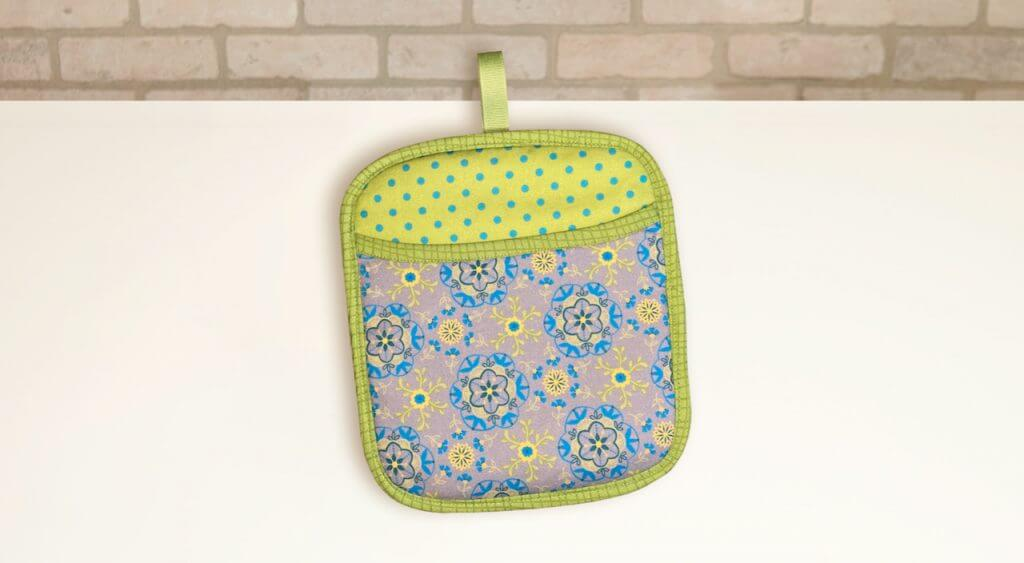 Potholder Plus Sewing Tutorial at the Nancy Zieman Productions Blog