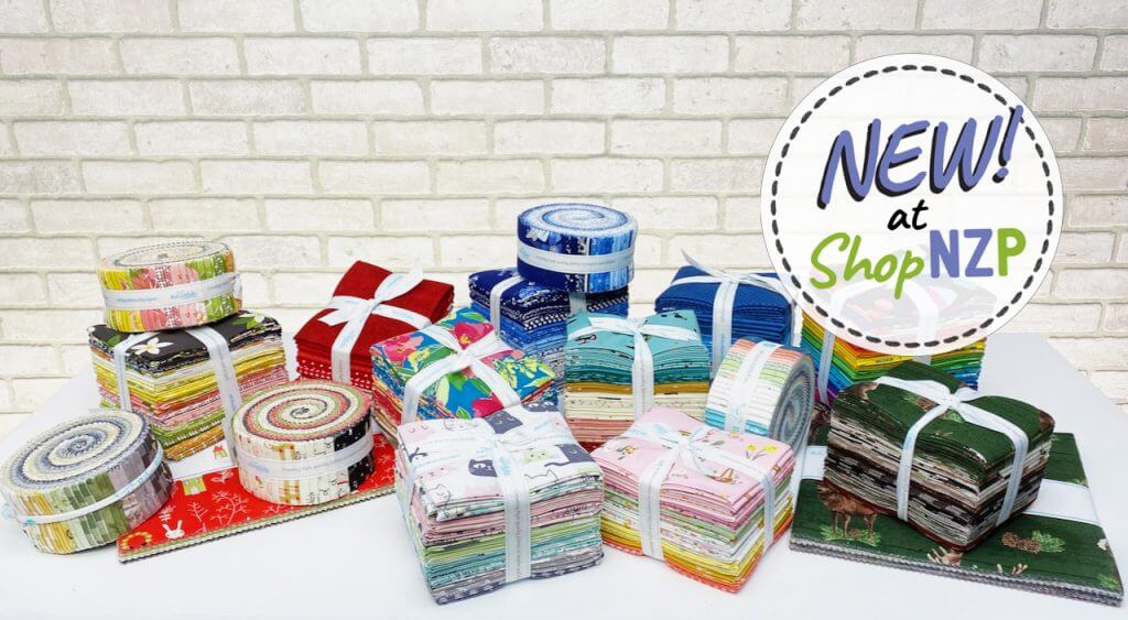 NEW Precut Fabric Bundles Available at Nancy Zieman Productions at ShopNZP.com