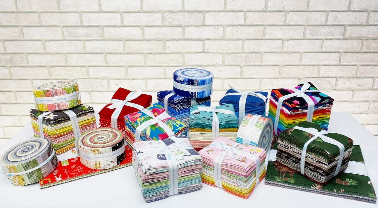 Precut Fabric Bundles Available at Nancy Zieman Productions at ShopNZP.com